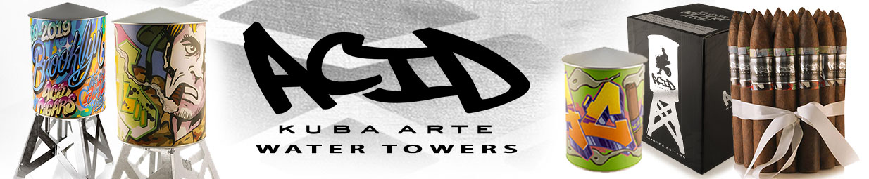 Acid Kuba Arte Water Towers
