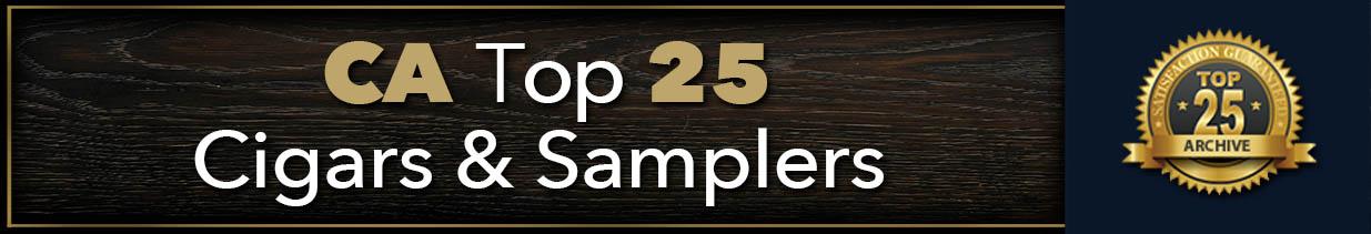 Cigar Aficionado Top 25 Samplers