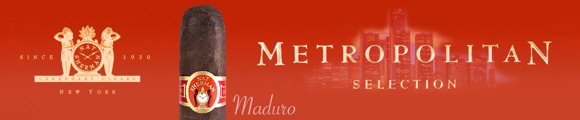 Nat Sherman Metropolitan Maduro