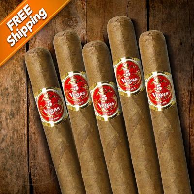 5 Vegas Classic Churchill Pack of 5 Cigars-www.cigarplace.biz-32
