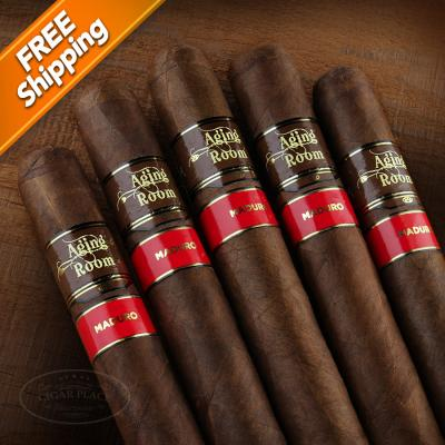 Aging Room Core Maduro Mezzo Pack of 5 Cigars-www.cigarplace.biz-31