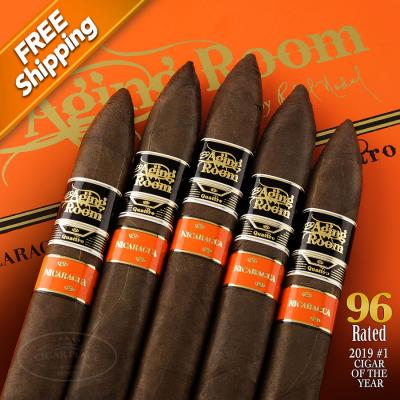 Aging Room Quattro Nicaragua Maestro Pack of 5 Cigars 2019 #1 Cigar of the Year-www.cigarplace.biz-31