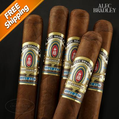 Alec Bradley Prensado Lost Art Robusto Pack of 5 Cigars-www.cigarplace.biz-31