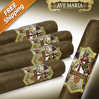 Ave Maria Lionheart (Box Press) Pack of 5 Cigars-www.cigarplace.biz-31