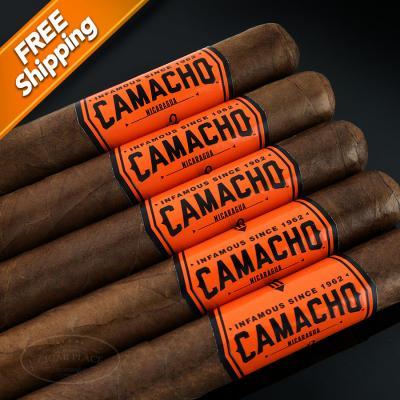Camacho Nicaragua Gran Churchill Pack of 5 Cigars-www.cigarplace.biz-31