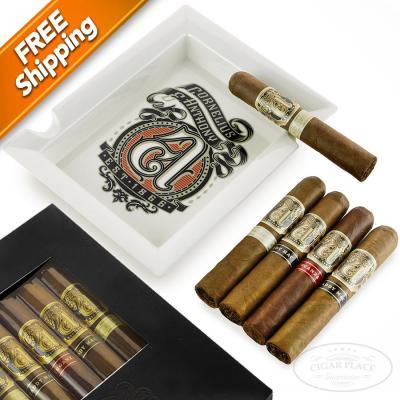 Cornelius and Anthony 5 Cigar and Ashtray Gift Set-www.cigarplace.biz-32