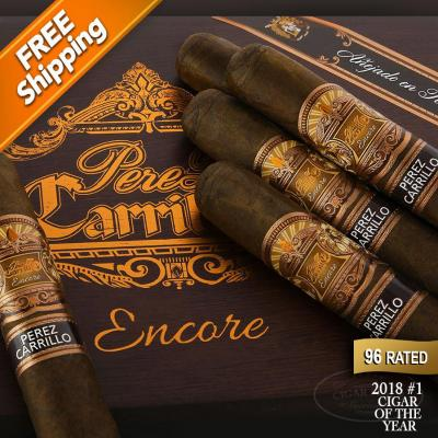 *E.P. Carrillo Encore Majestic Pack of 5 Cigars 2018 #1 Cigar of the Year-www.cigarplace.biz-32