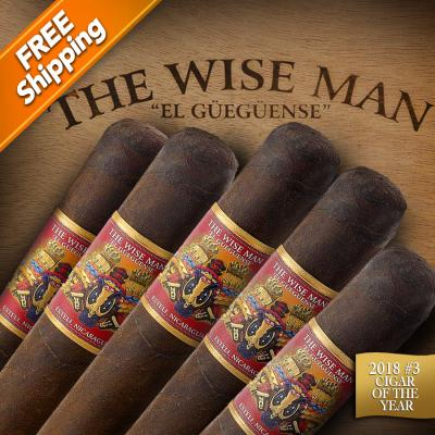 *Foundation The Wise Man Maduro Robusto Pack of 5 Cigars 2018 #3 Cigar of the Year-www.cigarplace.biz-31