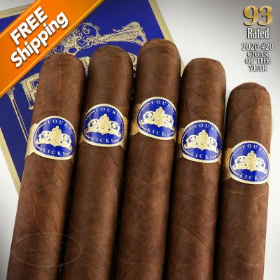 Four Kicks Capa Especial Robusto Pack of 5 Cigars 2020 #20 Cigar of the Year-www.cigarplace.biz-31