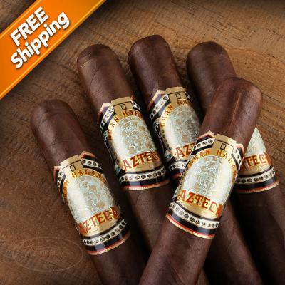 Gran Habano Azteca Robusto Pack of 5 Cigars-www.cigarplace.biz-31