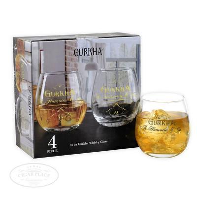 Gurkha 4-Piece Whiskey Glass Set-www.cigarplace.biz-31