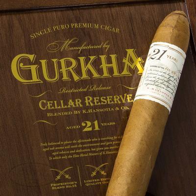 Gurkha Cellar Reserve 21 Year Kraken Cigars