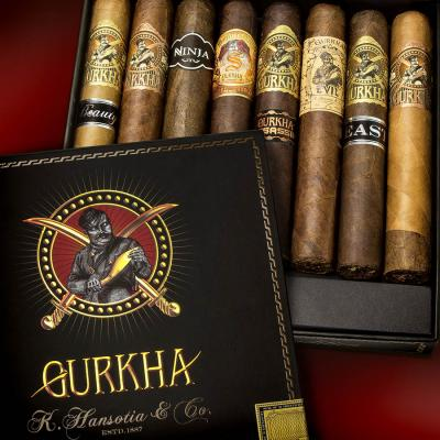 Gurkha Godzilla Rare and Limited 8-Cigar Assortment-www.cigarplace.biz-34