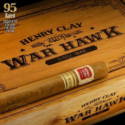 Henry Clay War Hawk Corona 2020 #10 Cigar of the Year-www.cigarplace.biz-31