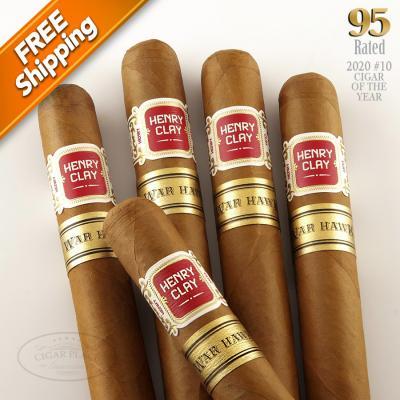 Henry Clay War Hawk Corona Pack of 5 Cigars 2020 #10 Cigar of the Year-www.cigarplace.biz-32