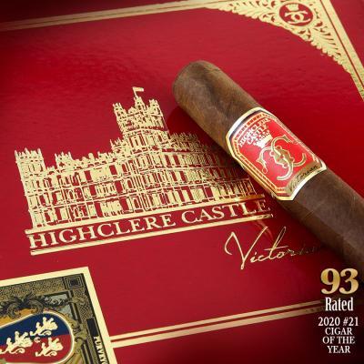 Highclere Castle Victorian Toro 2020 #21 Cigar of the Year-www.cigarplace.biz-31
