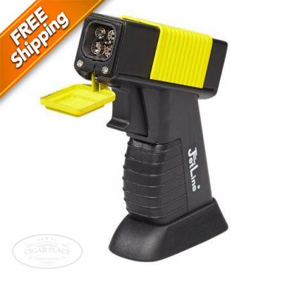 JetLine DT500 Quad Table Cigar Lighter Yellow-www.cigarplace.biz-31