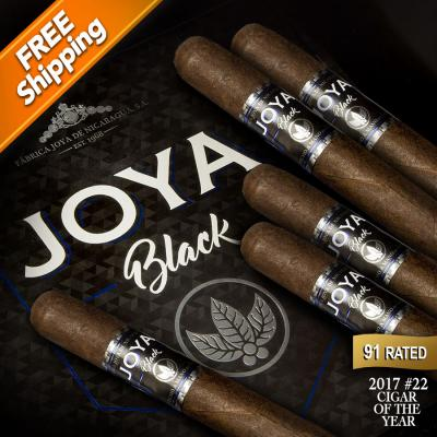 Joya de Nicaragua Black Nocturno Pack of 5 Cigars 2017 #22 Cigar of the Year-www.cigarplace.biz-31