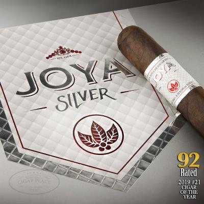 Joya Silver Corona 2019 #21 Cigar of the Year-www.cigarplace.biz-32