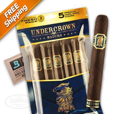 Liga Undercrown Maduro Gran Toro Fresh Pack of 5 Cigars-www.cigarplace.biz-32