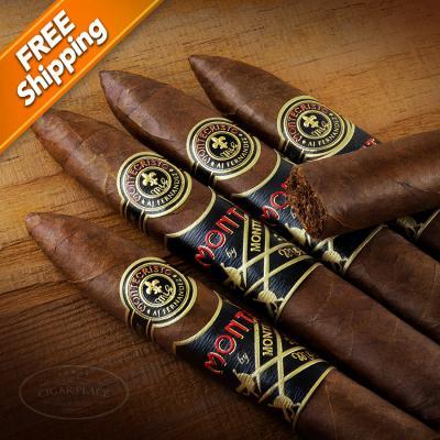 Monte by Montecristo AJ Fernandez Belicoso Pack of 5 Cigars-www.cigarplace.biz-32