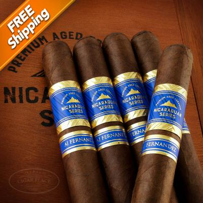 Nicaraguan Series by AJ Fernandez Robusto Pack of 5 Cigars-www.cigarplace.biz-32