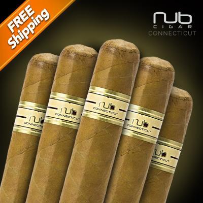 Nub Connecticut 460 Pack of 5 Cigars-www.cigarplace.biz-31