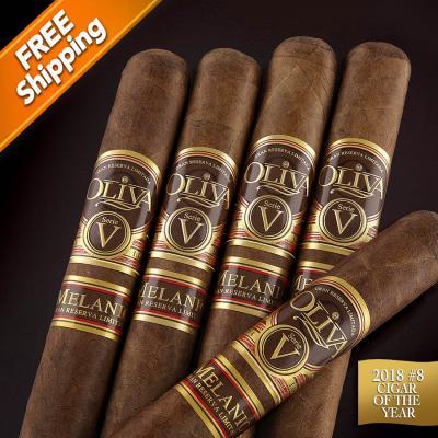 Oliva Serie V Melanio Churchill Pack of 5 Cigars 2018 #8 Cigar of the Year-www.cigarplace.biz-31