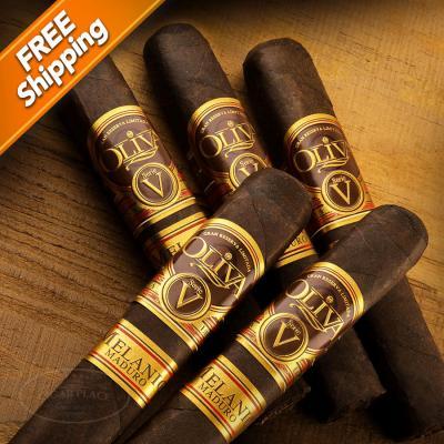 Oliva Serie V Melanio Maduro Robusto Pack of 5 Cigars-www.cigarplace.biz-32