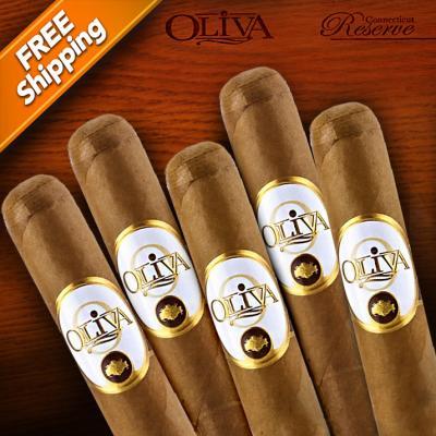 Oliva Connecticut Reserve Robusto Pack of 5 Cigars-www.cigarplace.biz-31