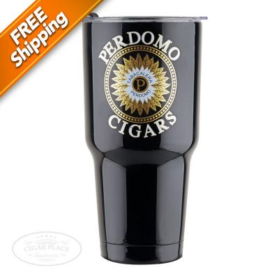 Perdomo 30 oz. Stainless Steel Tumbler Black-www.cigarplace.biz-31