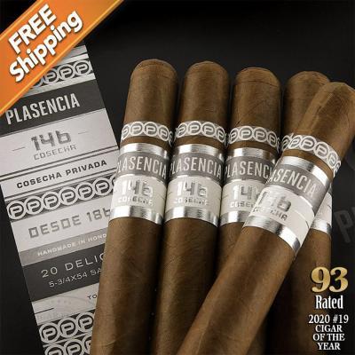 Plasencia Cosecha 146 La Vega Pack of 5 Cigars 2020 #19 Cigar of the Year-www.cigarplace.biz-31