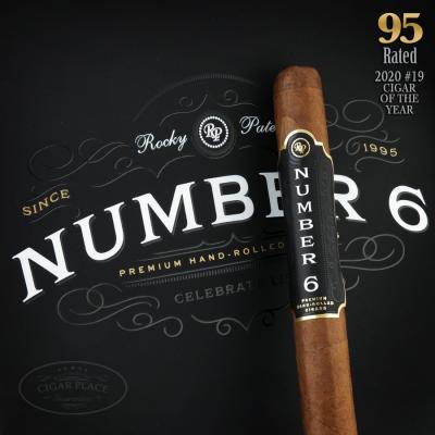 Rocky Patel Number 6 Corona 2020 #9 Cigar of the Year-www.cigarplace.biz-31