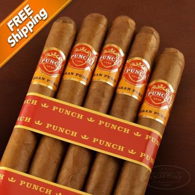 Punch Gran Puro Sierra Pack of 5 Cigars-www.cigarplace.biz-32