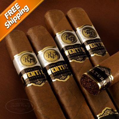 Rocky Patel Twentieth Anniversary Box-Pressed Toro Pack of 5 Cigars-www.cigarplace.biz-31