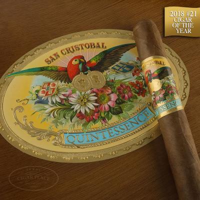 San Cristobal Quintessence Corona Gorda 2018 #21 Cigar of the Year-www.cigarplace.biz-33