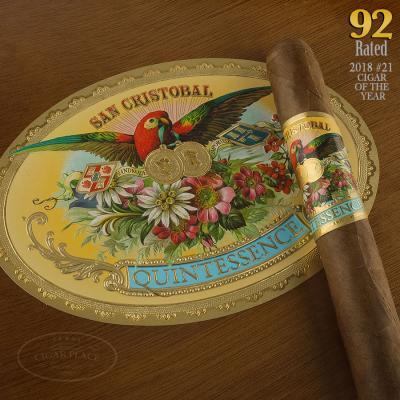 San Cristobal Quintessence Corona Gorda 2018 #21 Cigar of the Year-www.cigarplace.biz-32