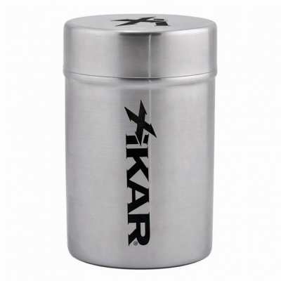 Xikar Stainless Portable Ashtray Can-www.cigarplace.biz-31