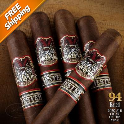 Viva La Vida Jester Pack of 5 Cigars 2020 #16 Cigar of the Year-www.cigarplace.biz-32