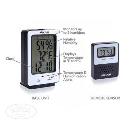 XIKAR PuroTemp Wireless Hygrometer System-www.cigarplace.biz-31