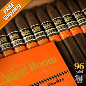 Aging Room Quattro Nicaragua Maestro Cigars 2019 #1 Cigar of the Year-www.cigarplace.biz-21