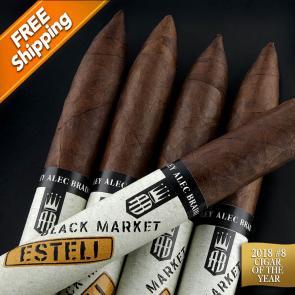 Alec Bradley Black Market Esteli Torpedo Pack of 5 Cigars 2018 #9 Cigar of the Year-www.cigarplace.biz-21