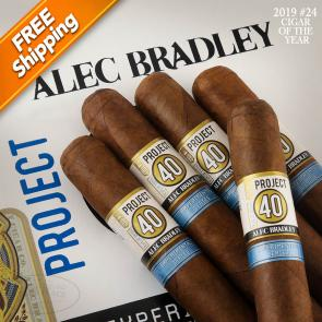 Alec Bradley Project 40 06.52 Toro Pack of 5 Cigars 2019 #24 Cigar of the Year-www.cigarplace.biz-21