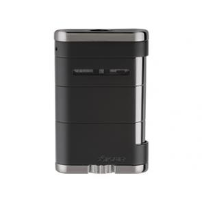 Xikar Allume Tabletop Cigar Lighter Tuxedo Black-www.cigarplace.biz-21