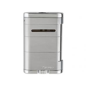 Xikar Allume Tabletop Cigar Lighter Steel Silver-www.cigarplace.biz-21