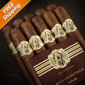 Avo Heritage Robusto Bundle of 10 Cigars-www.cigarplace.biz-21