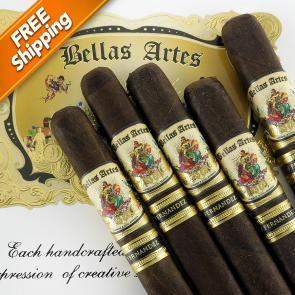 Bellas Artes Maduro Robusto Pack of 5 Cigars-www.cigarplace.biz-21