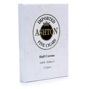 Ashton Natural Half Corona Pack 5-www.cigarplace.biz-21