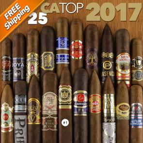 Cigar Aficionado Top 25 Cigars of 2017 Cigar Sampler-www.cigarplace.biz-21