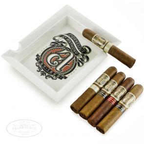 Cornelius and Anthony 5 Cigar Gift Set with White Ashtray-www.cigarplace.biz-21